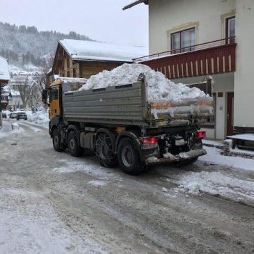 Schneeräum- und Streupflicht